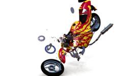 motorcyle damage